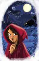 Red Riding Hood by Hesstoons