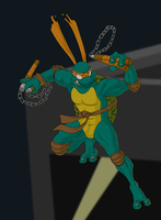 - TMNT: Michelangelo - by kinky-angel