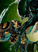 alien vs. predator by HenryPonciano