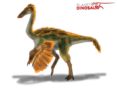 Planet Dinosaur- Gallimimus by Vespisaurus