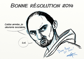 Voeux 2014 by ZeNoon