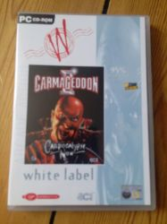 Carmageddon 2 - White Label release - front by WarriorRazor