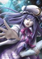 Stage 04 / Ask to the Book (Patchouli Fan Art) by Killerjaja