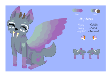 Mysterix Ref Sheet by EnderwingsThePony