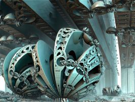 Mandelbulb repair station by marijeberting