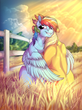 :COMM: Sunset of Feelings by LupiArts