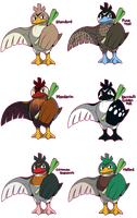 PKMN: Farfetch'd Variations
