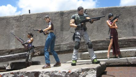 Resident Evil Action Figures by boltbox
