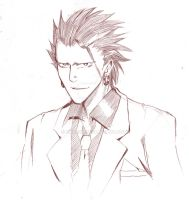 Eyeshield 21 - Marco Reiji sketch by bake2x
