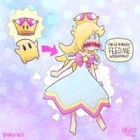 Super Crown Powered Luma! by TheBourgyman