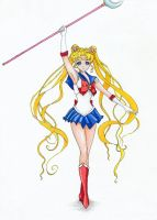Sailor Moon by AnastasiaRedApple