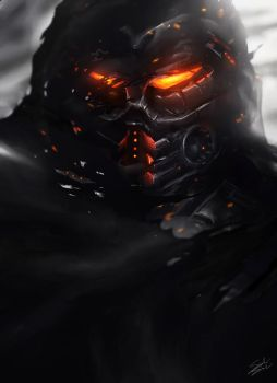 Killzone Speed Painting by solidsoulart