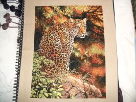 Leopard in the Jungle by Karexie-Maylin