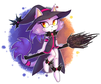 Purple witch Blaze by KetLike