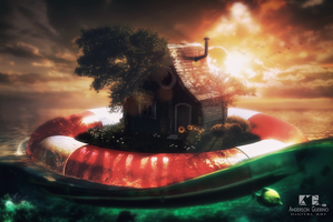 Life bouy House by andersonguerino
