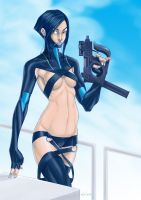 Aeon Flux 2 by crayonslut