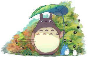 Totoro Forest by ComplexWish