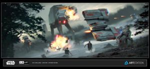 ILM Art Dept Challenge- The Ride No.2- Rescue by AnthonyDevine