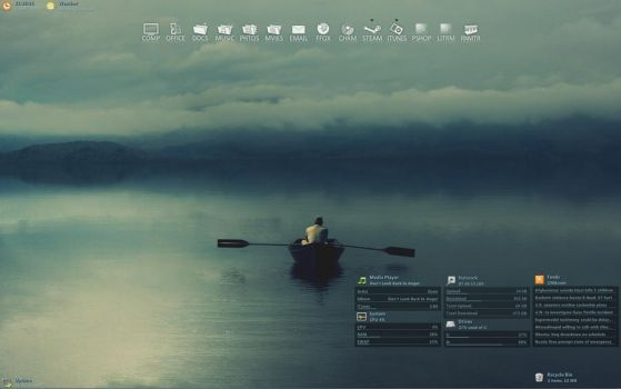 August desktop by SebHolm91