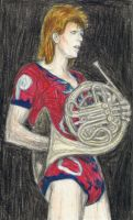 Ziggy played french horn by gagambo