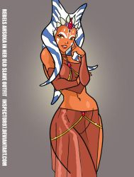 Ahsoka Slave Dress by Inspector97