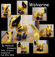 My Little Wolverine by Alatariel-Silimaure