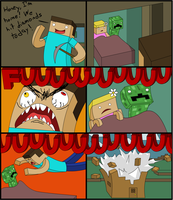 Minecraft Comic by LisaAndMonster