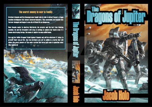 The Dragons of Jupiter Book Cover 1 by hpholo