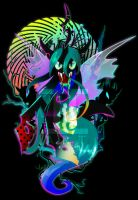 Queen of the Changelings by II-Art
