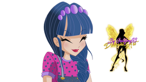 World of Winx Musa Couture - PNG by Gallifrey93