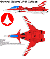 General Galaxy VF-9 Cutlass by bagera3005
