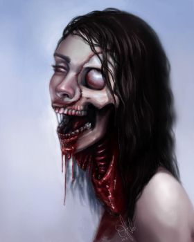 Zombie by XeiArt