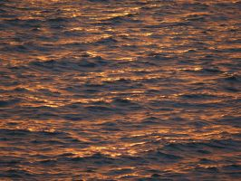 Orange Waves 15547853 by StockProject1
