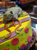 Cheshire Cat Cake by Erisana