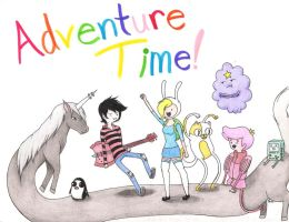 Adventure Time ::Commission:: by RainbowPaige