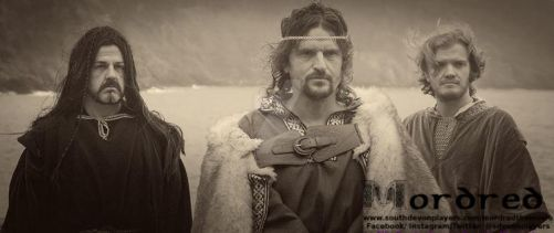 Agravaine, King Arthur, and Lancelot by southdevonplayers
