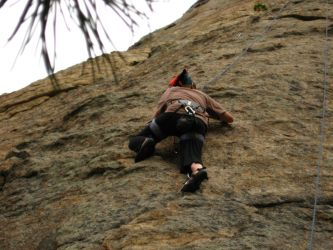 Rock Climber 1 by MatrixStock