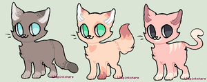 Kitty adopts (Closed) by LPSpinkshare