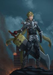 Cloud - God Eater Level 2 by kaerulum