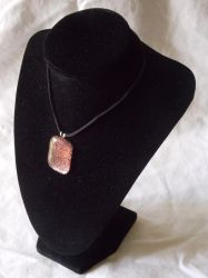 Pink Moscato Pendant by AigneadhAigeann