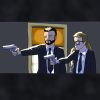 Pulp Fiction by curiousdoodler