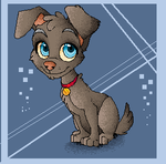 Pixel Puppy by Kitchiki