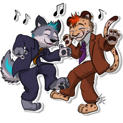 Furvester (Telegram Sticker) 01 by lobowupp