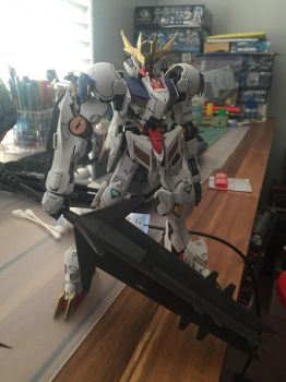1/100 FM Barbatos Lupus Rex  by XrosBrony
