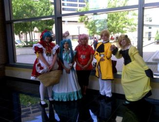 ConnectiCon Vocaloid Gang by Lolalilacs