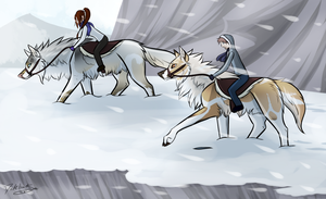 Light Snowstorms --- RoM for Cica and Sudar by DarkHeartSeer
