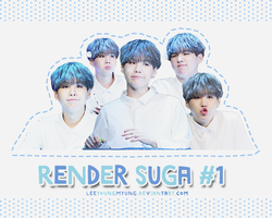 [162507] SUGA - RENDER PACK #1 by Leeyoungmyung