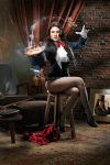 Zatanna, A Magic Trick by jaytablante