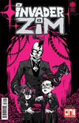 INVADER ZIM ISSUE #30 - Family Portrait Variant by Krooked-Glasses