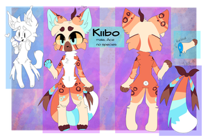 Kiibo Ref sheet November 2017 by SushPuppy